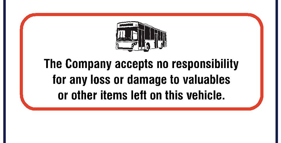 Company Disclaimer Notice