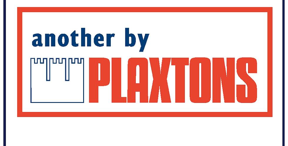 Retro Plaxton Sticker Decal 750mm X 324mm Graphic Bus Coach Self Adhesive
