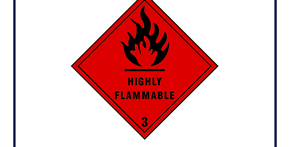 Dangerous substances - highly flammable