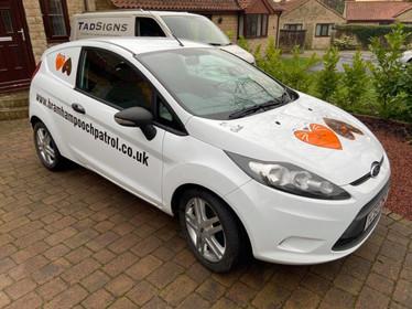 Additional vans for Bramham Pooch Patrol