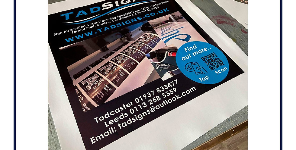 NFC Enabled Poster and Print Signage