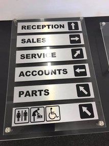 Contemporary Reception Signage