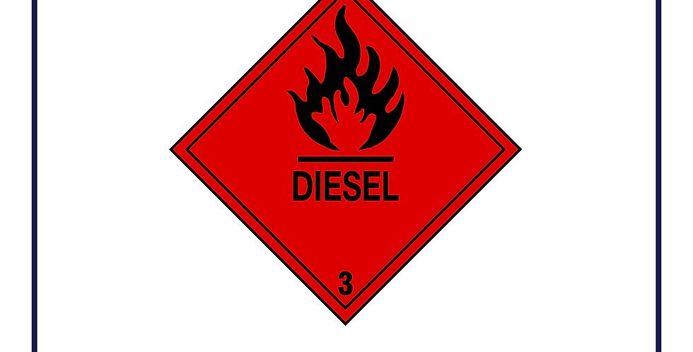 Dangerous substances - diesel