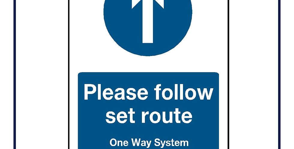 Please follow set route