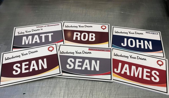 Bespoke Coach Drivers Badges