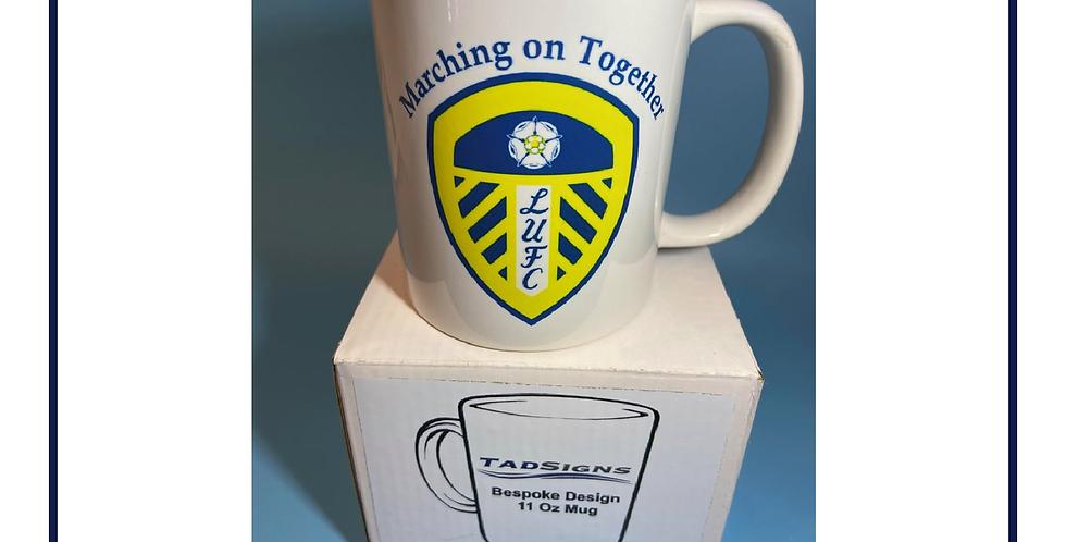 Leeds United 11oz Gift Mug