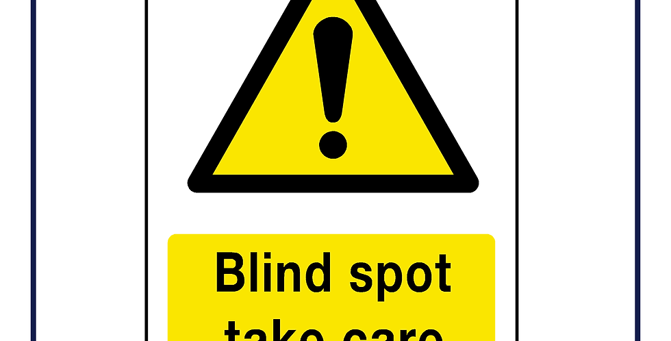 DVS compliant - blind spot warning- portrait