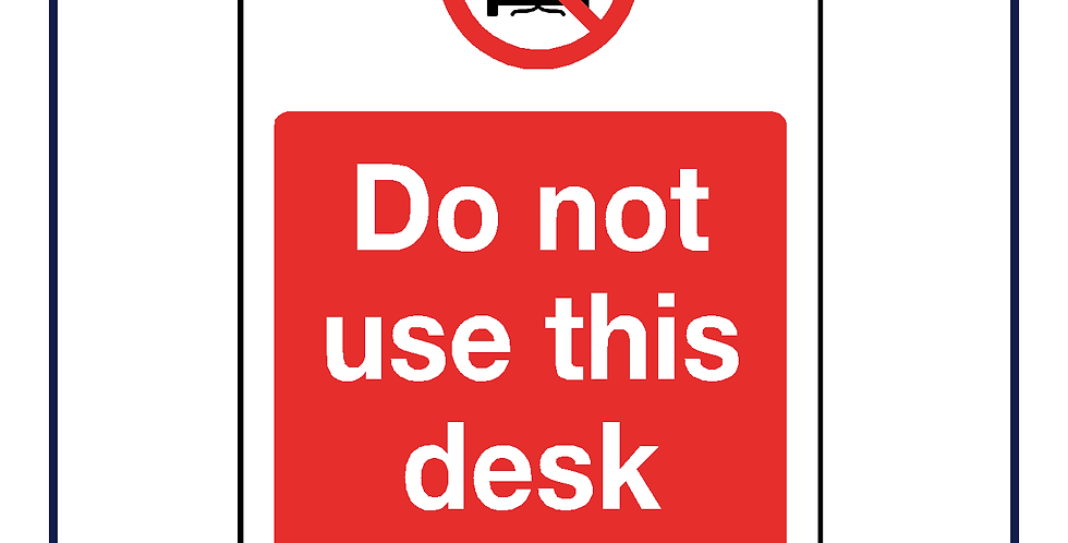 Do not use this desk