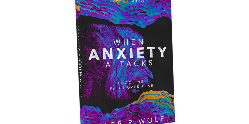 """Release of """"When Anxiety Attacks"""" Book"""