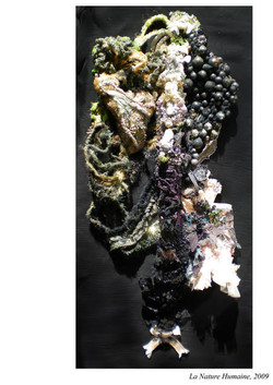 sculpture textile, « Nature Humaine »
