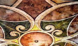 Image in Stone in Foyer repeated in Mura