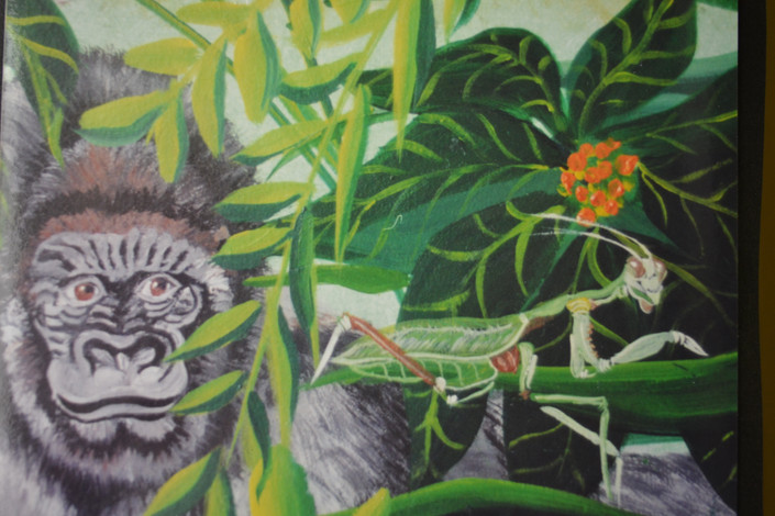 , 10' x 8' Jungle Puzzle, Can you Find a