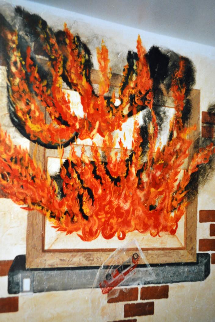 Firefighter's Fire Room.