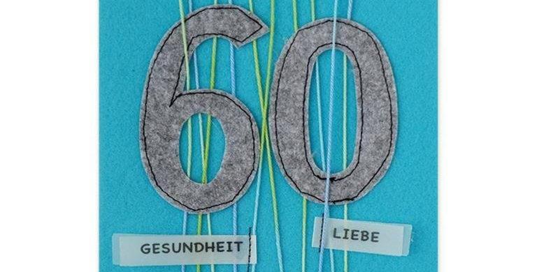 Zum Geburtstag 60