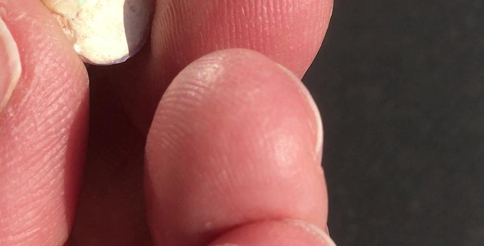 Opalisierte Schnecke aus Coober Pedy