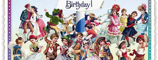 Postkarte Sweet Memories Happy Birthday