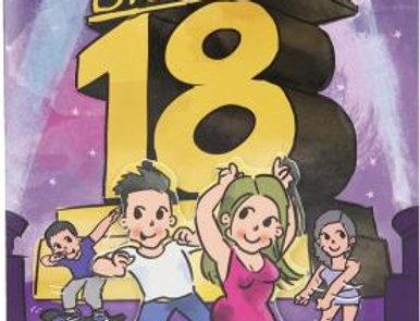 Geburtstag Karte Endlich bist du 18