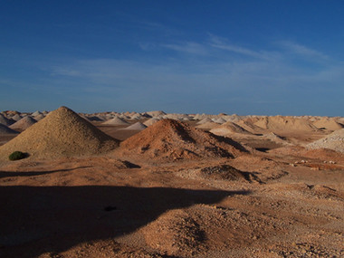 Mining Gelände