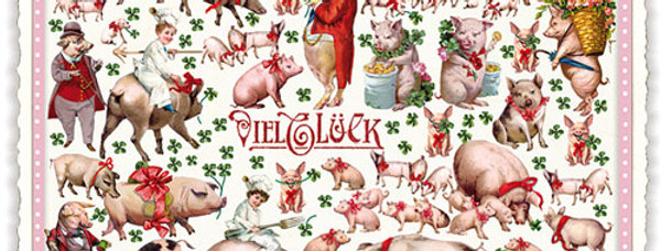 Postkarte Sweet Memorie Viel Glück