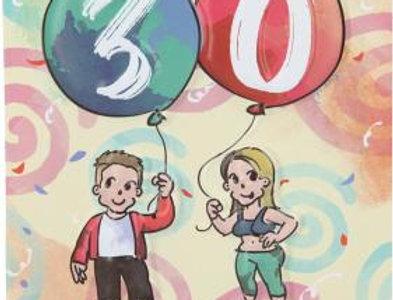 Geburtstag Karte 30 Geburtstag