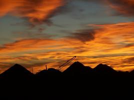 Sonnenaufgang in Coober Pedy