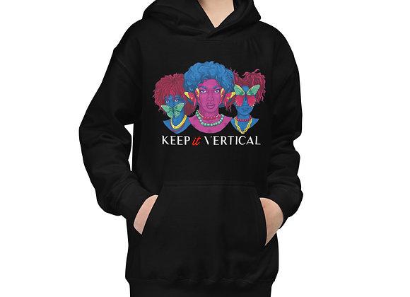 Keep it Vertical Kids Hoodie