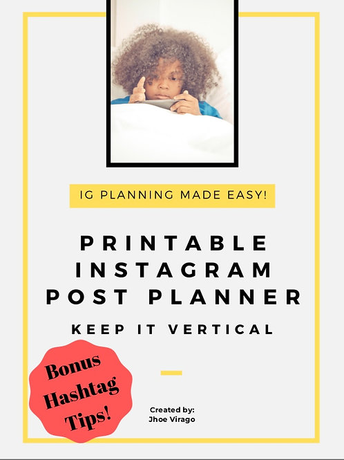 Instagram Post Planner