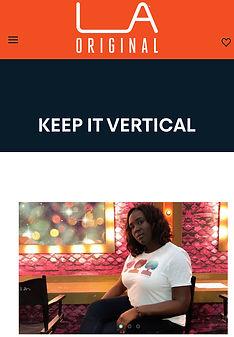 Mayor of LA and Keep it Vertical