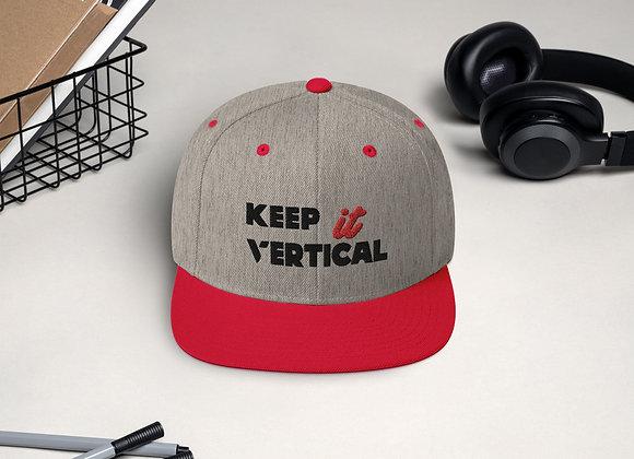 Keep it Vertical Snapback Hat