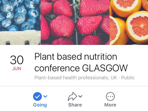 ***EVENT ANNOUNCEMENT - PLANT-BASED NUTRITION FOR MEDICAL PROFESSIONALS***