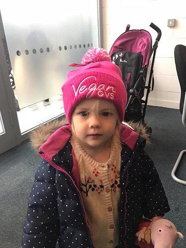 GVS Kids Pom Pom Beanie Hat