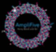AmpliFive Circle Logo - blue txt RGB mer