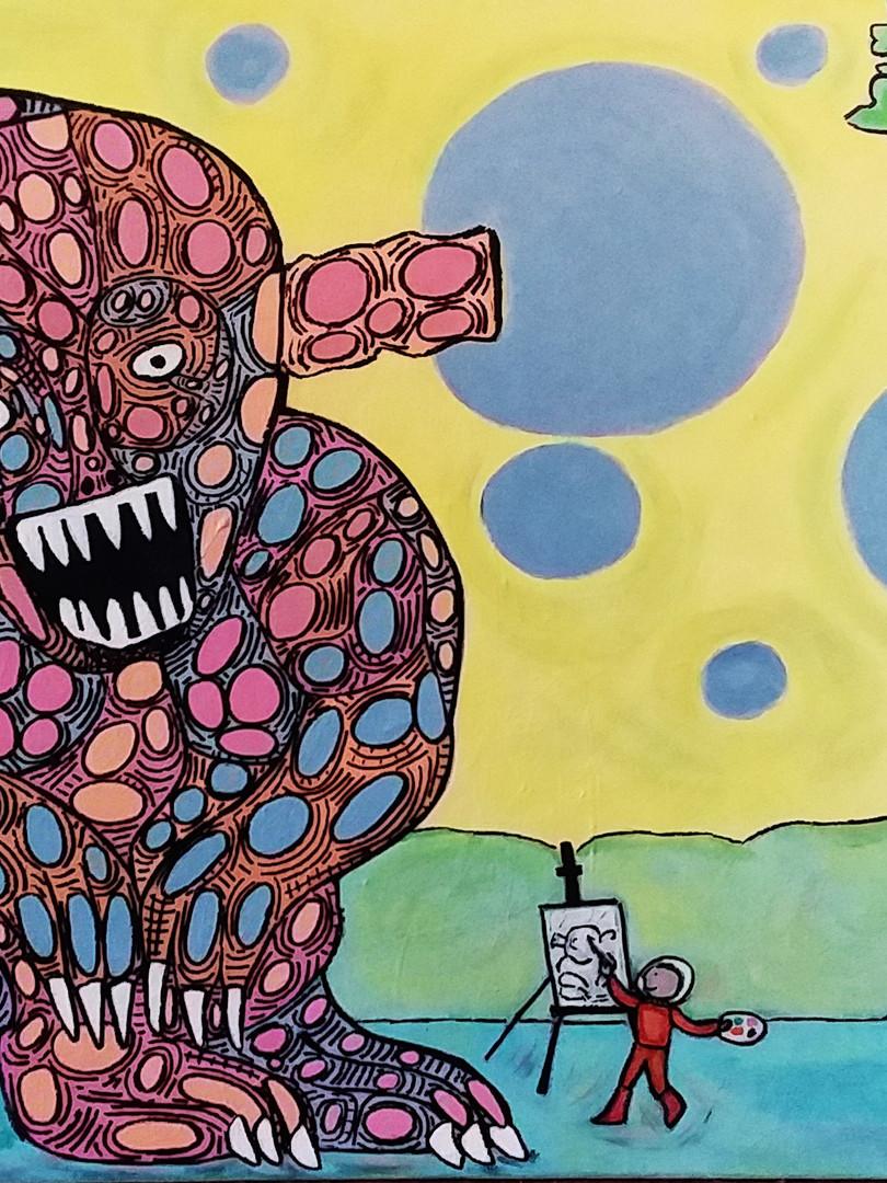 Pour faire le portrait d'un monstre...