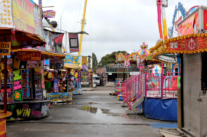 Hull Fair By Day Series- 4