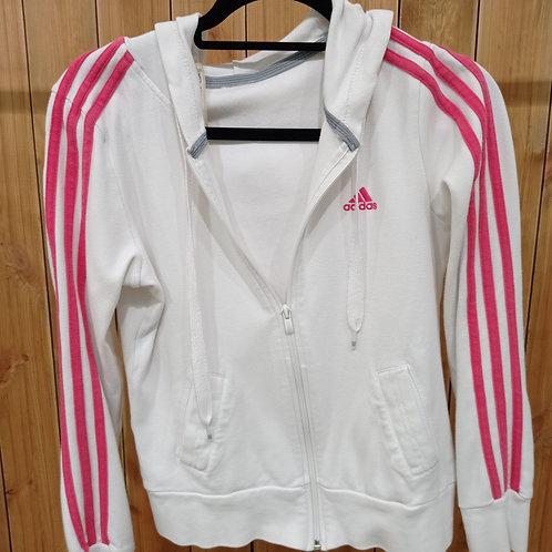Veste adidas rose et blanche