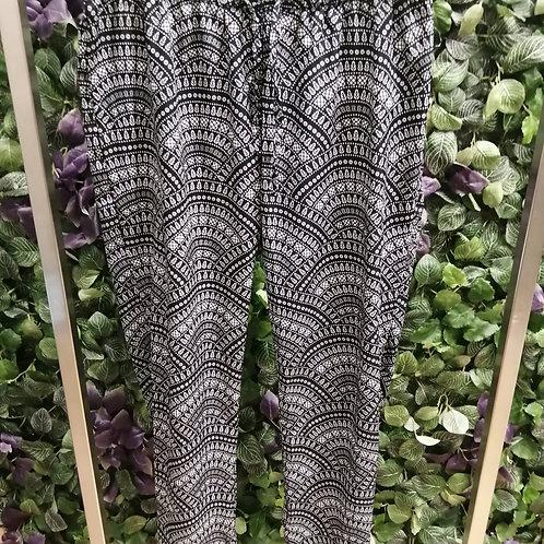 Pantalon synthétique motifs