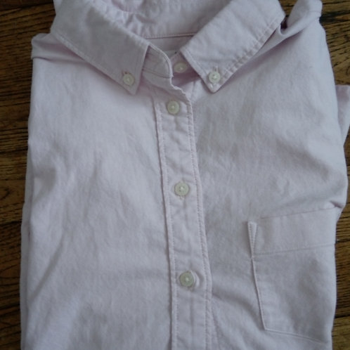 Chemise oxford rose pale
