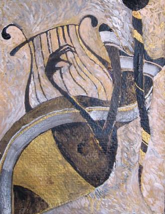 Harp player II