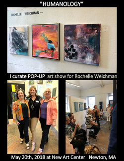 Curate artshow for Rochelle Weichman