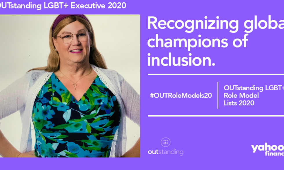 Outstanding LGBT+ Executive Award for the year 2020