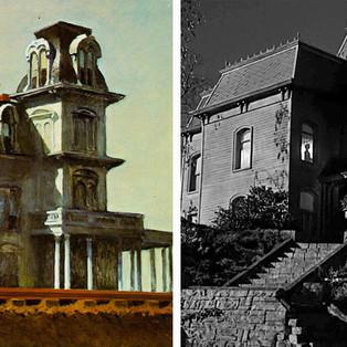 Hitchcock e as pinturas de Edward Hopper