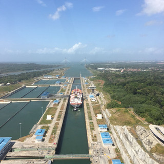 Agua Clara Locks on the Atlantic Side