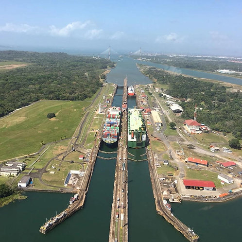 Panama canal and city tour