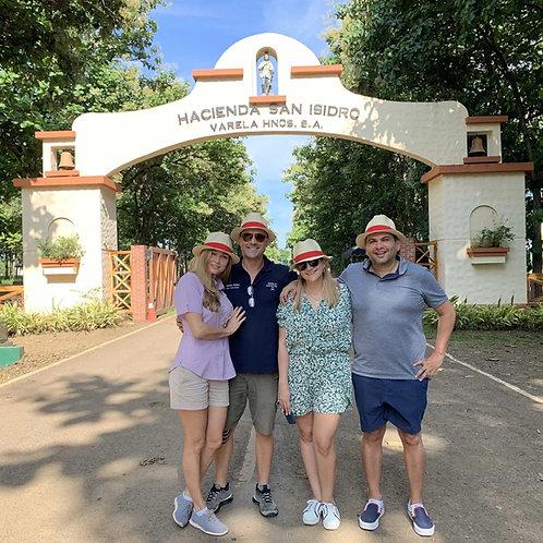 Hacienda San Isidro rum tasting tour