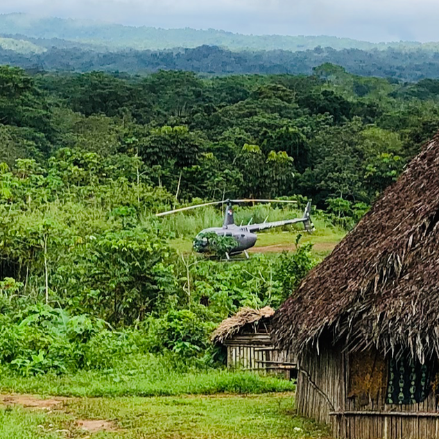 Visiting local indigenous tribes