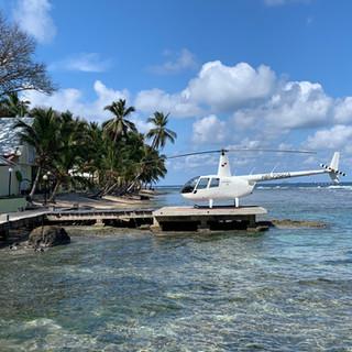 R44 on the Atlantic Side of Panama