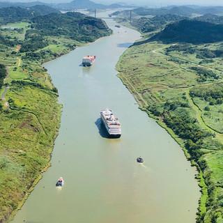 Panama Canal's Culebra Cut