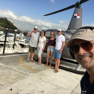 Pre-flight selfies