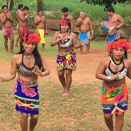 Panama canal, Panama City and Embera Quera tour