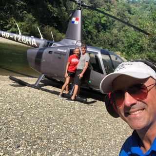 Quick stop on the Chagres River